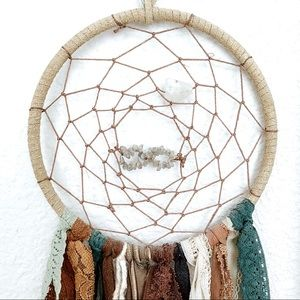 Handmade Dream Catcher With Infinity Sign